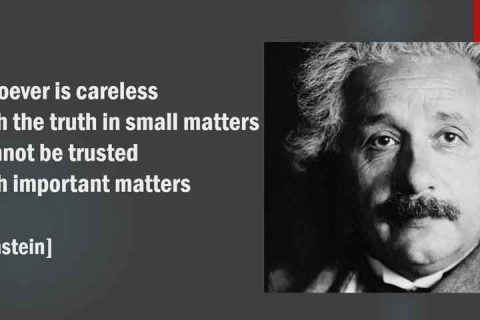 Einstein on Truth