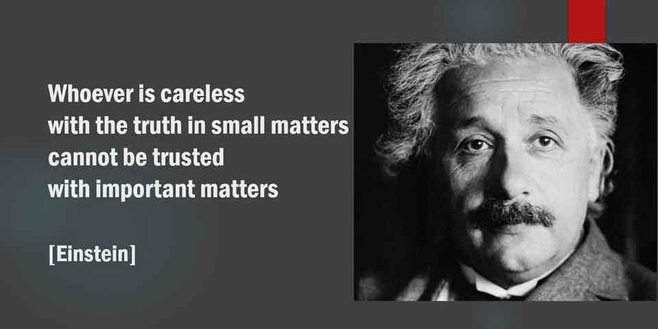 Einstein on Truth