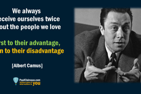 Deceive ourselves twice Camus
