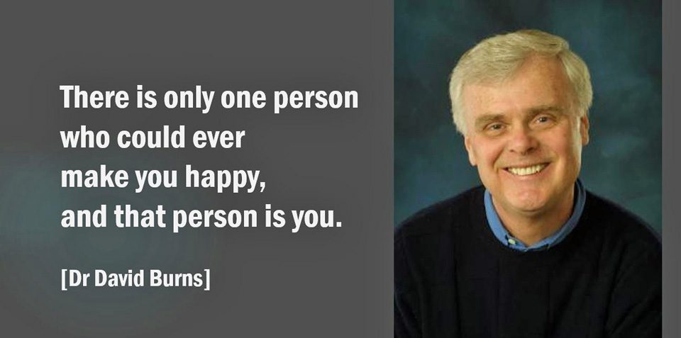 The only person who can make you happy - is you