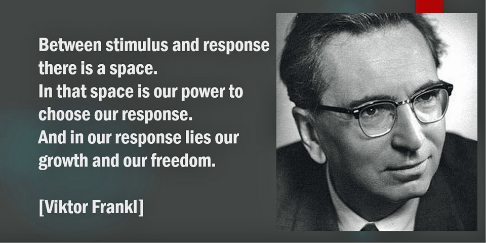 Frankl on reactions