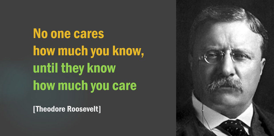 No one cares what you know