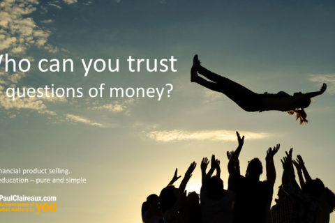 Who can you trust about money