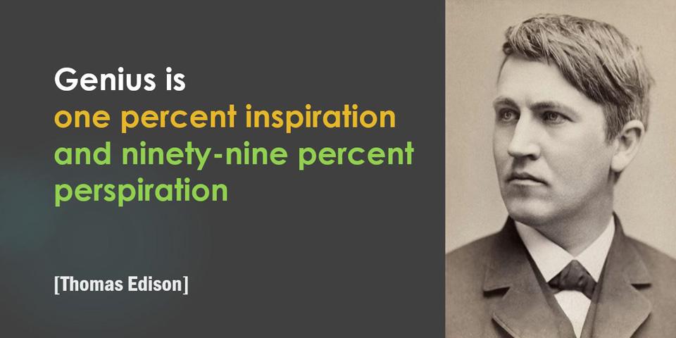 Edison, Genius