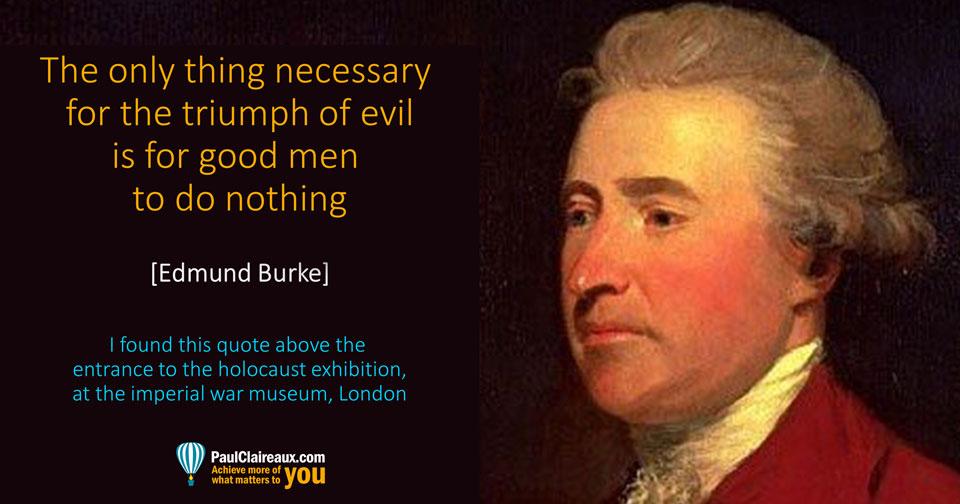 Burke. Triumph of Evil