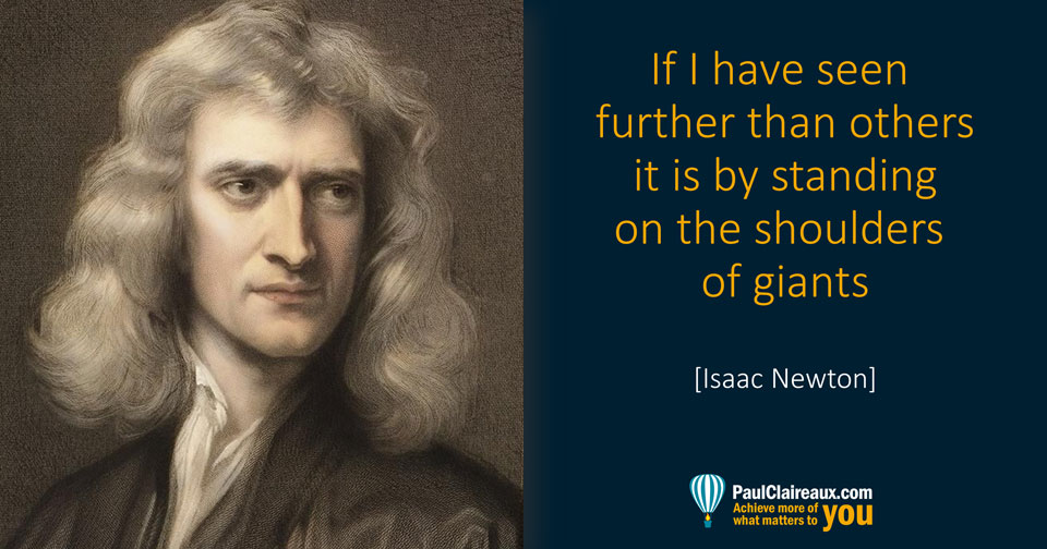 Newton. Shoulders of Giants