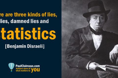Three kinds of lies, Disraeli