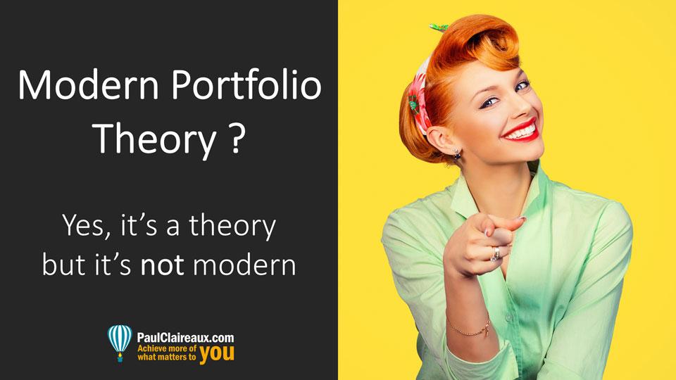 Modern Portfolio Theory. Paul Claireaux