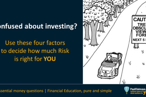 Four Factors to decide on risk