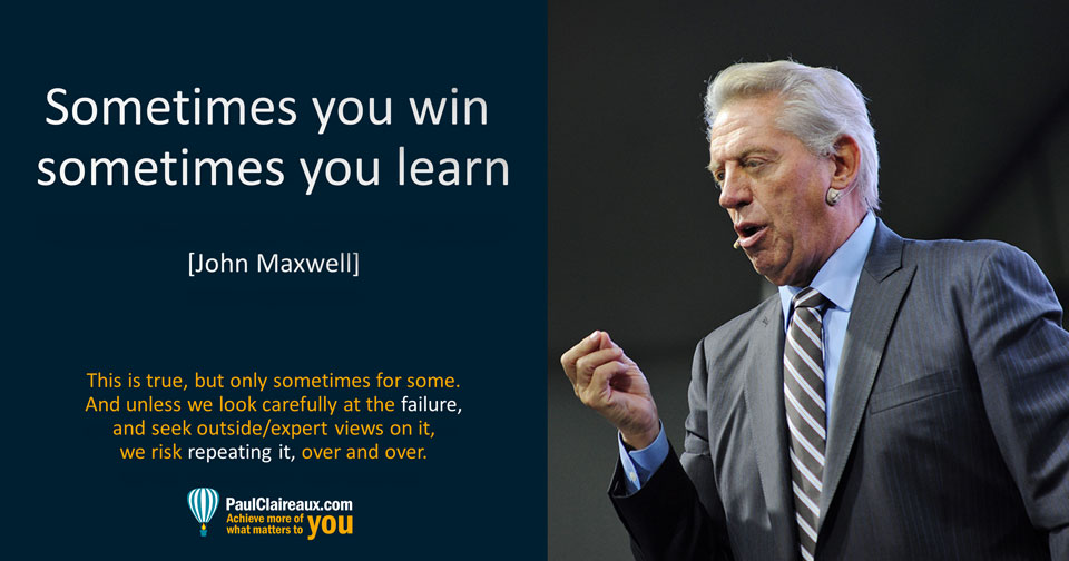 Maxwell. Win or Learn