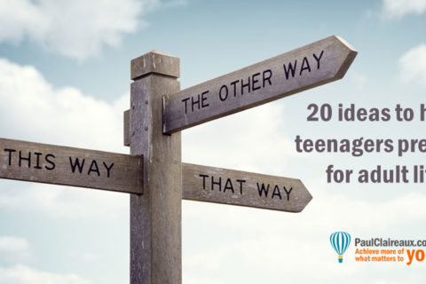 20 ideas for teenagers