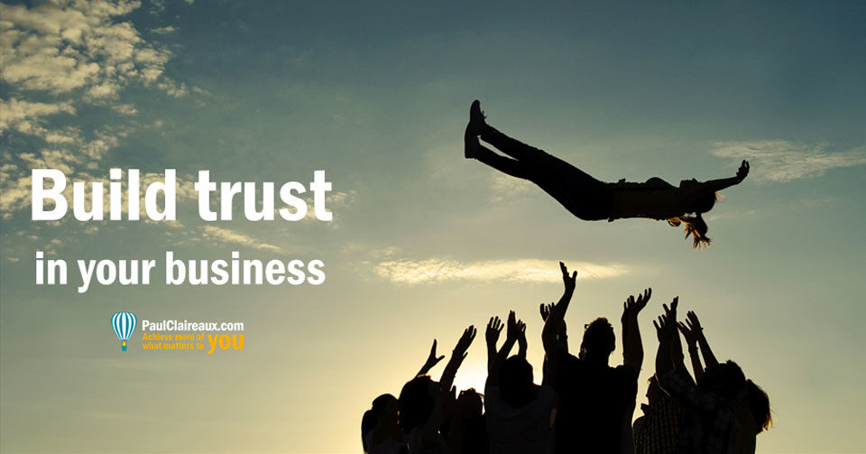 Build Trust in your business