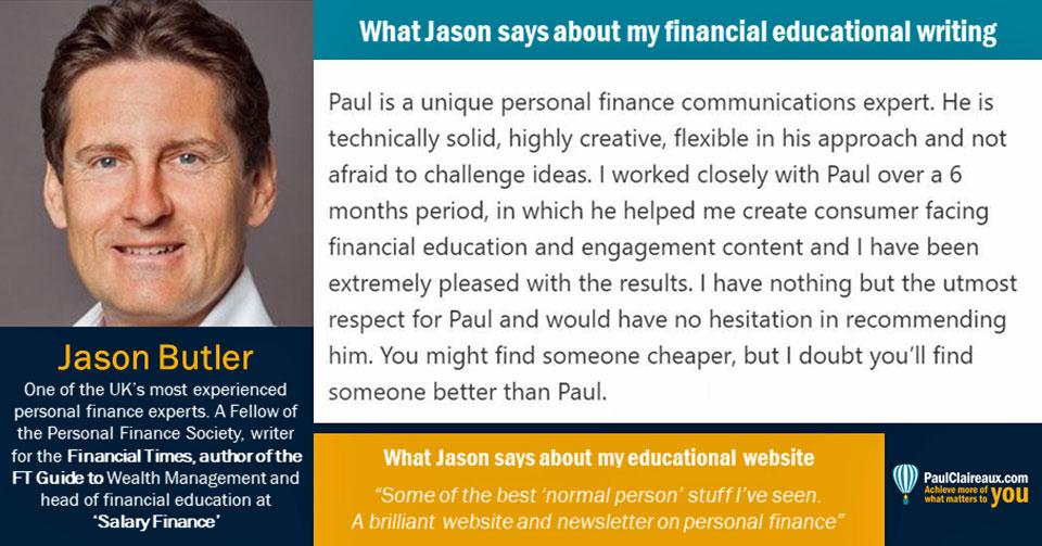 Jason Butler Testimonial