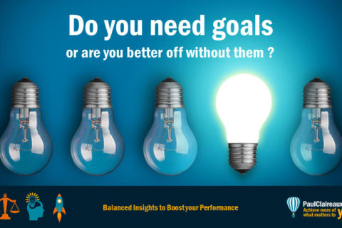 Do you need to set goals