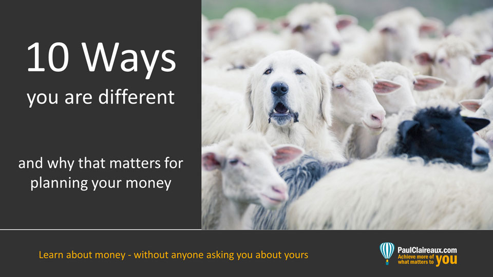 10 ways you are different