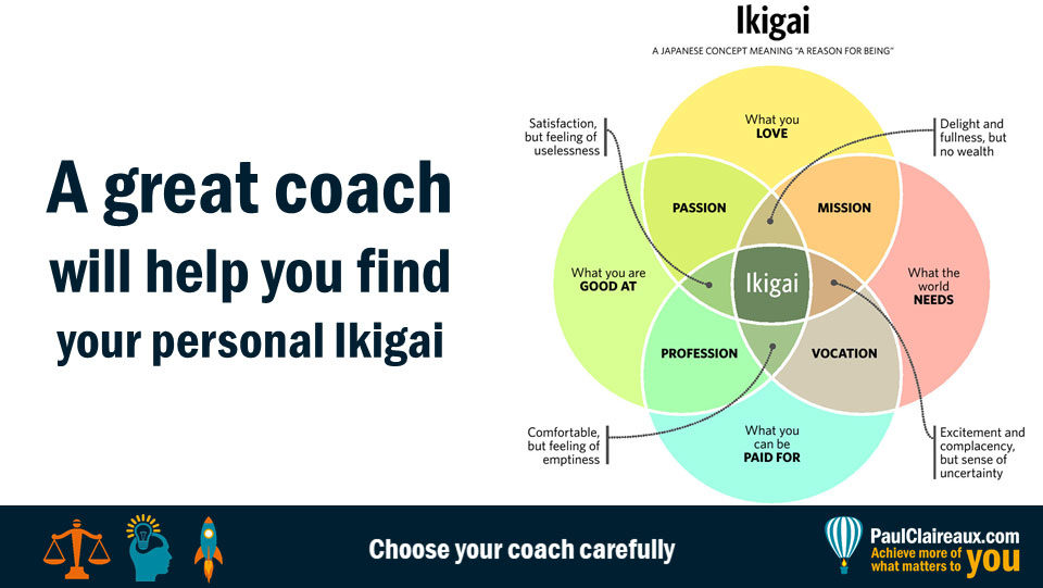 Coaching for Ikigai