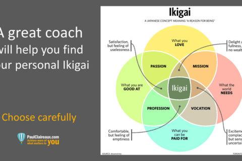 Great Coach and Ikigai