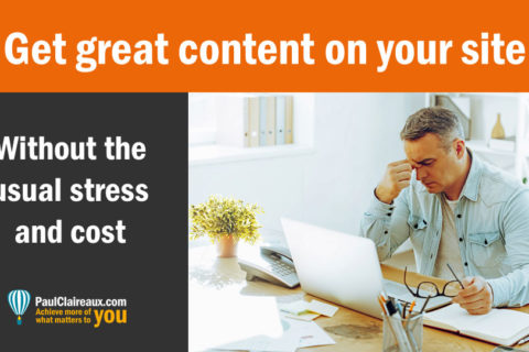 How to get great content on your website