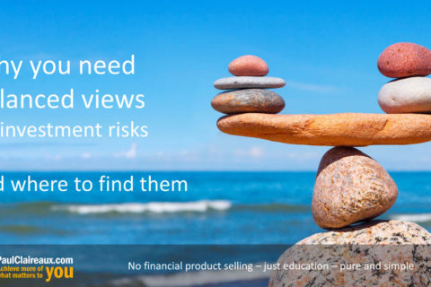 Why you need balanced ideas on investment risk