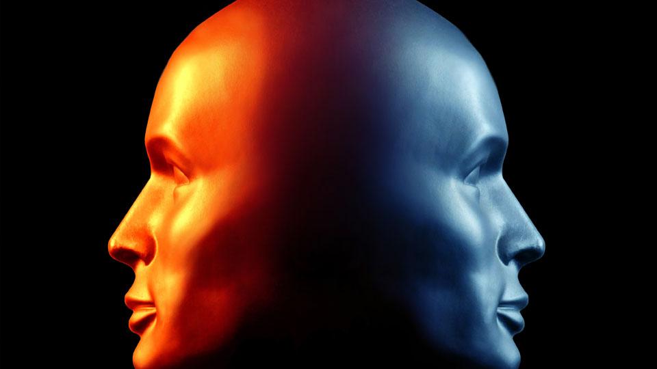 Two faces. Paul Claireaux