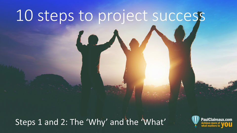 10 steps to project success (1&2)