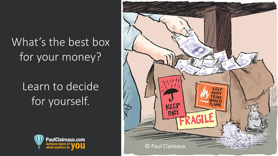 Right box for your money