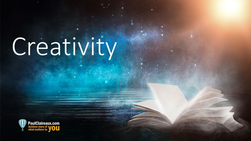 Creativity. Paul Claireaux
