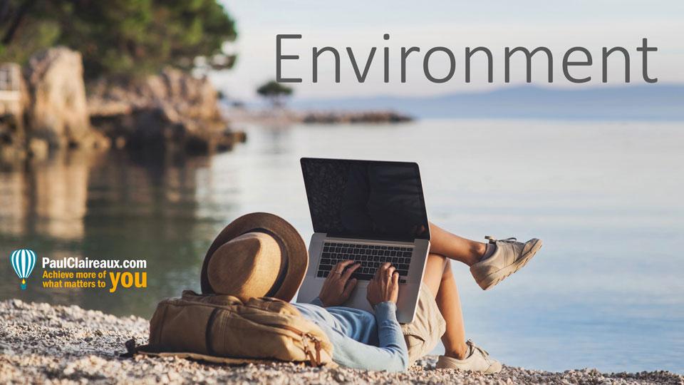 Environment. Paul Claireaux