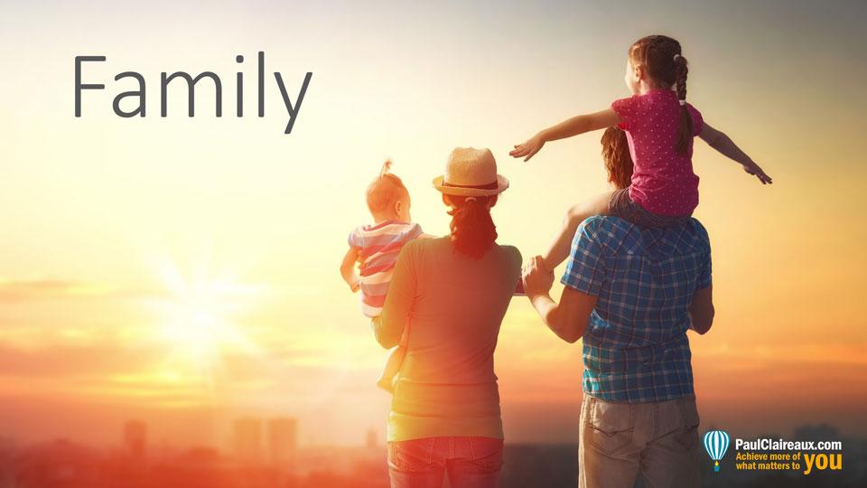 Family. Paul Claireaux