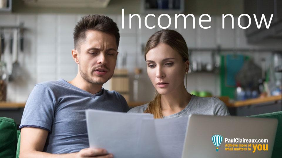 Income Now, Paul Claireaux