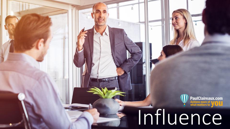 Influence. Paul Claireaux