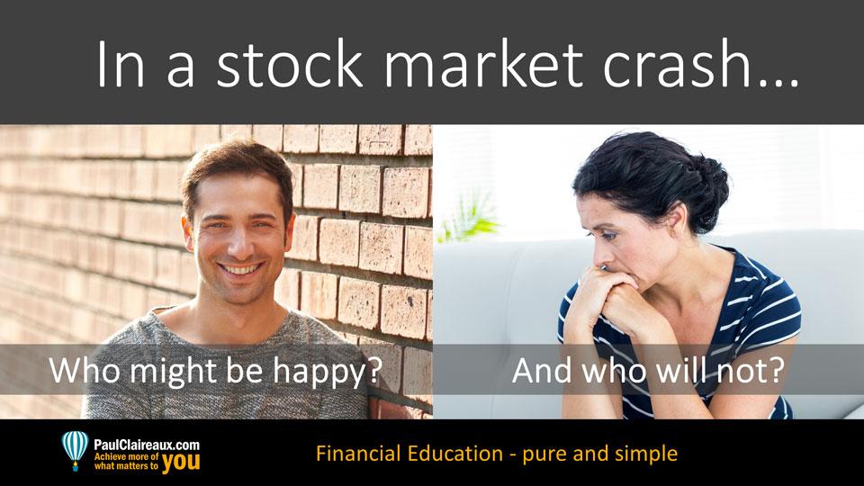 Market Crash Happy. Paul Claireaux