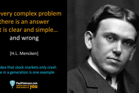 Mencken. Clear, Simple & Wrong. Paul Claireaux