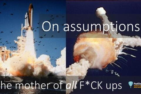 Assumptions. Paul Claireaux