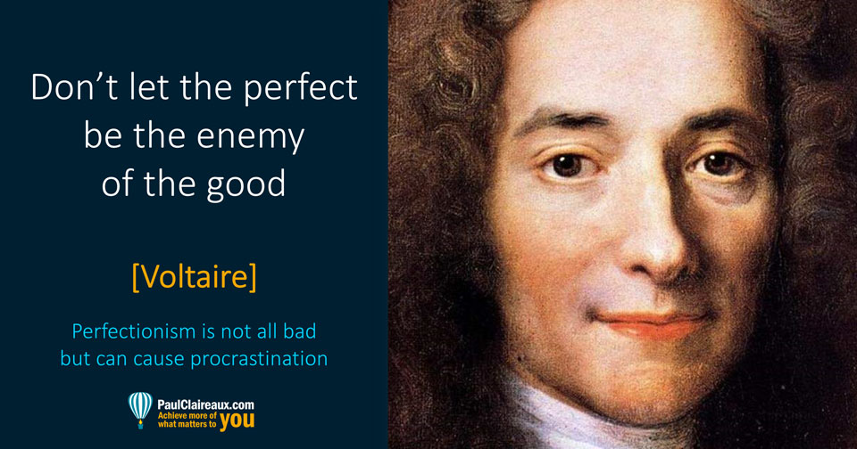 Voltaire. Perfect Enemy of Good. Paul Claireaux