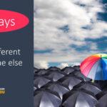 Ten Ways You're Different. Paul Claireaux