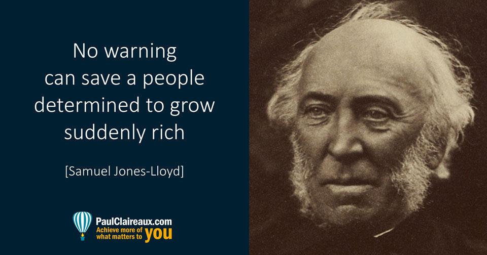 Suddenly Rich, Jones Lloyd