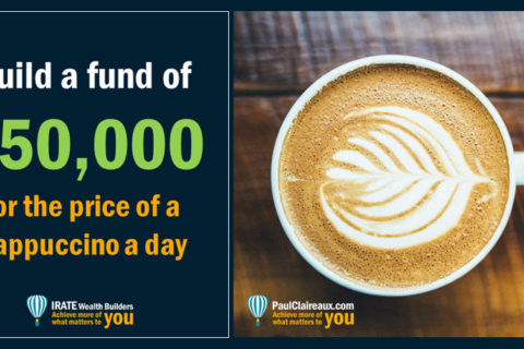 £50,000 for a cappuccino a day