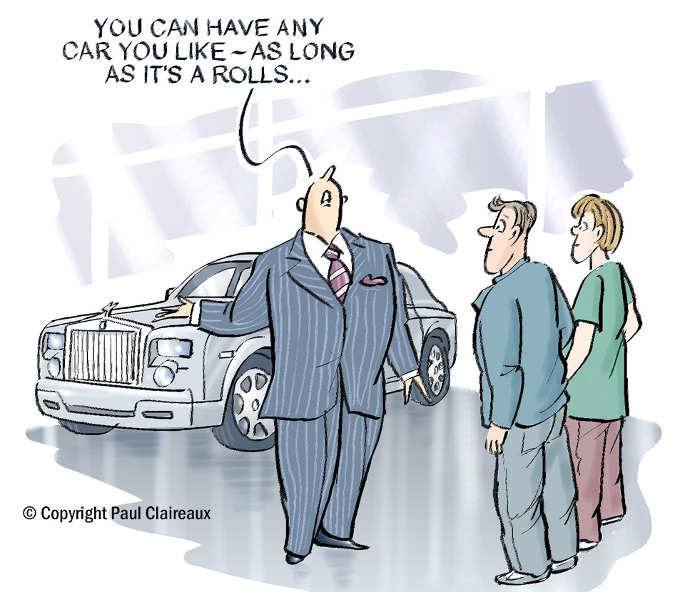 Rolls Royce Car Salesman