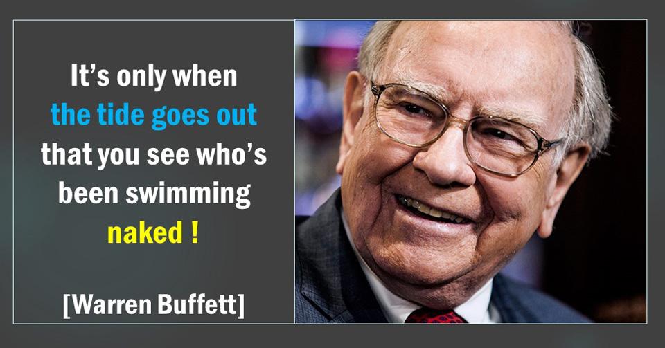 Buffett Swimming Naked