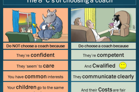 How to choose a coach