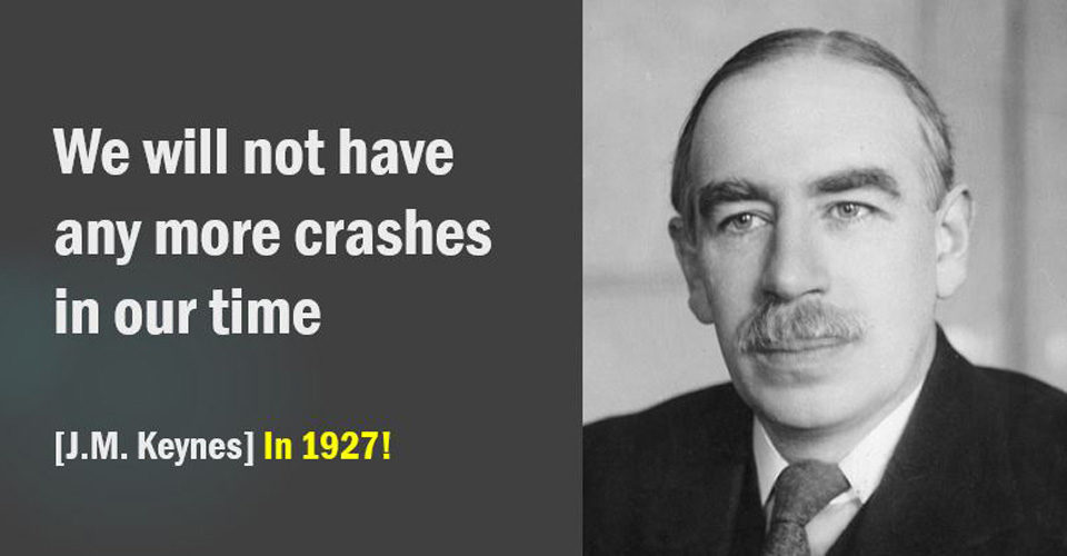Keynes on Crashes