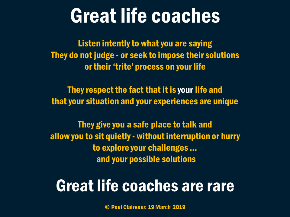 Great life Coach
