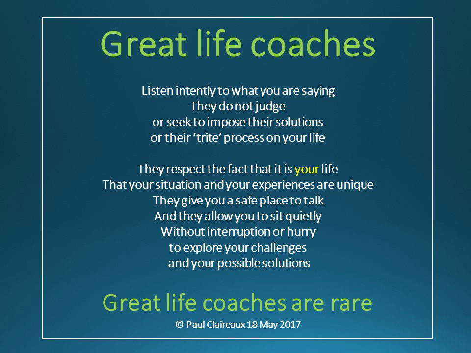 Great life Coaches