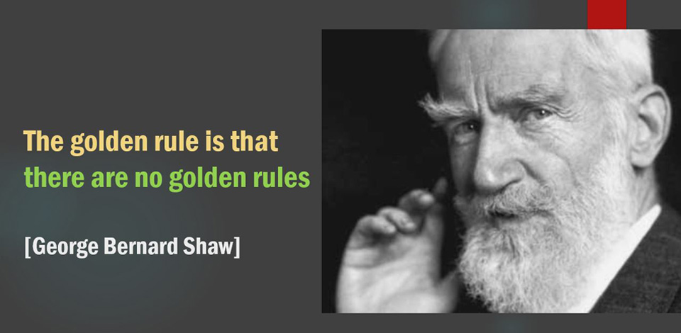 Shaw. The Golden Rule