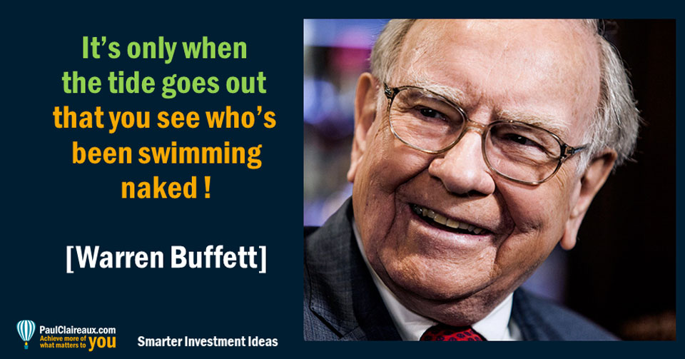 Buffett see who's been swimming naked