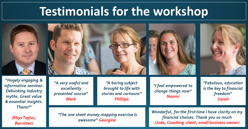 Workshop testimonials