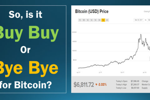 Bitcoin Buy Buy or Bye Bye