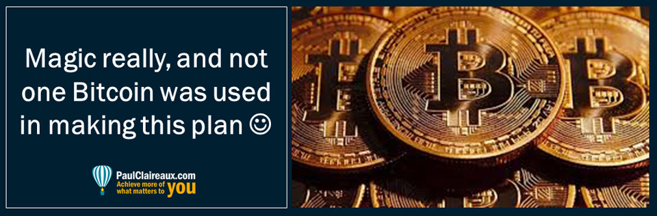 Not one Bitcoin was used