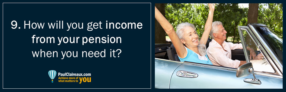 Pension income options